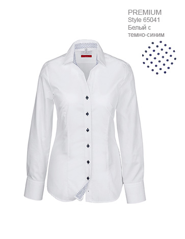 Блузка-женская-с-отделкой-V-вырез-Regular-Fit-ST65041-Greiff-65041.1220.290-363x467-1