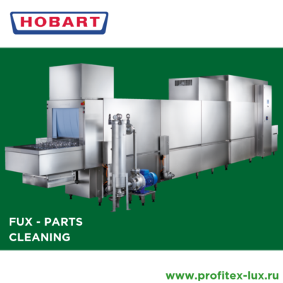 Hobart FUX-parts cleaning