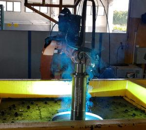 Сварочный робот на заводе Tolon