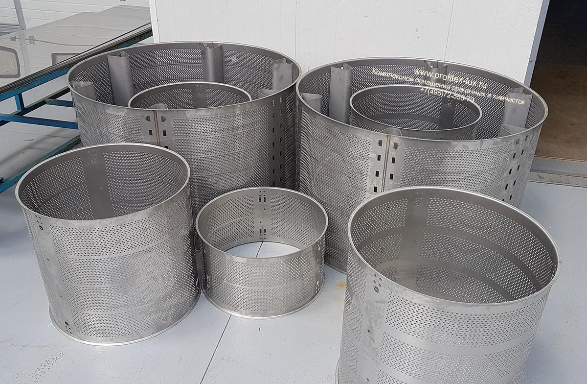 Варианты барабанов всех стиральных машин на заводе Tolon