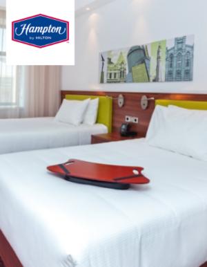 Готовое постельное белье для отелей Hampton by Hilton_363x467