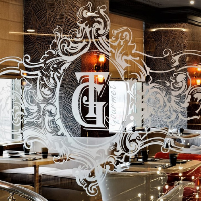 Проектирование бара и ресторана с оборудованием от Profitex. Ресторан G&T, Holiday Inn Sokolniki, Москва. На фото вход в ресторан.