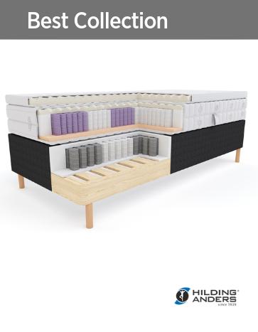 Гостиничные кровати основание, матрас, топпер Best Collection Hilding Anders