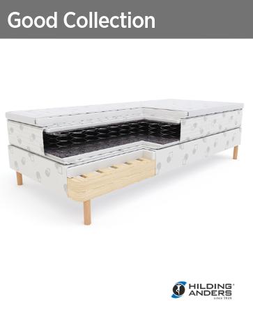 Гостиничные кровати основание, матрас, топпер Good Collection Hilding Anders