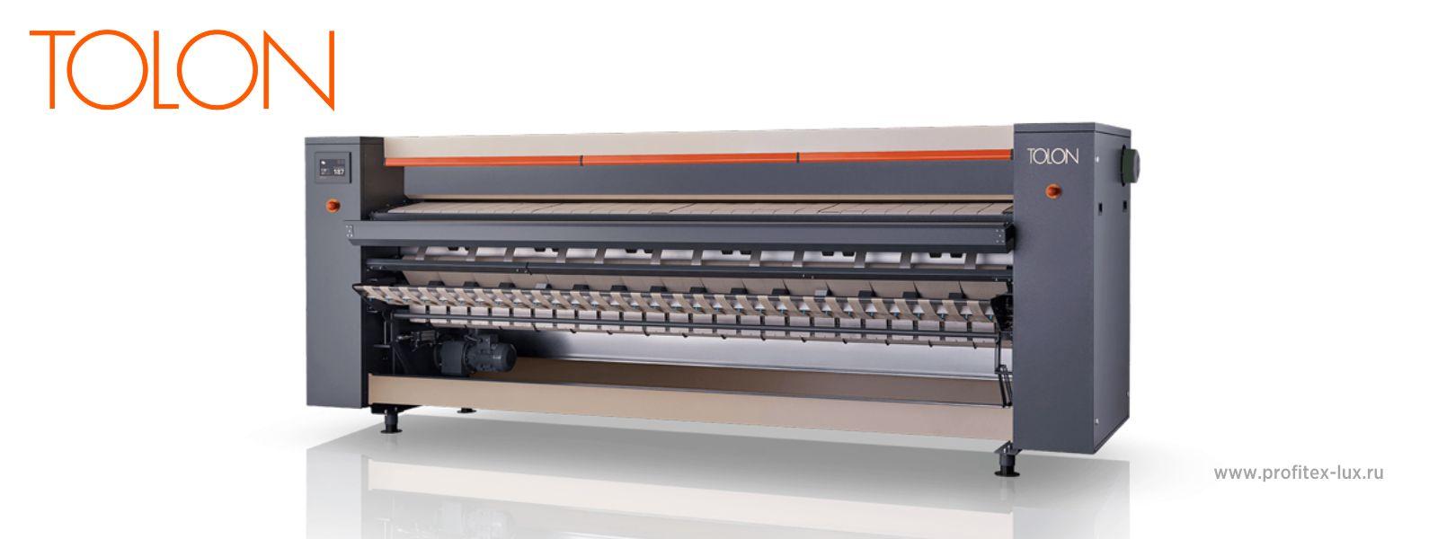 Новые гладильные машины TOLON