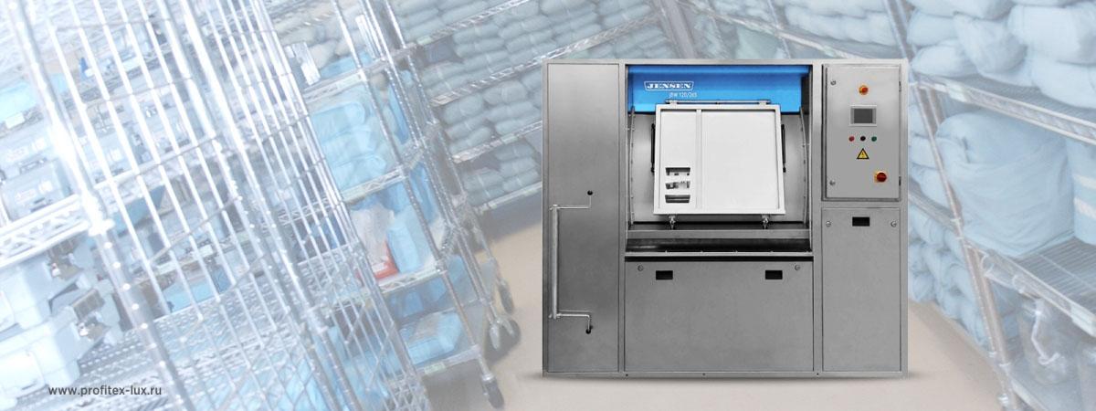 Барьерные стиральные машины для прачечной