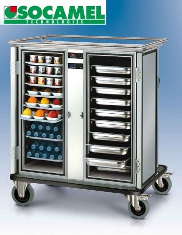 Socamel. Оборудование для раздачи питания