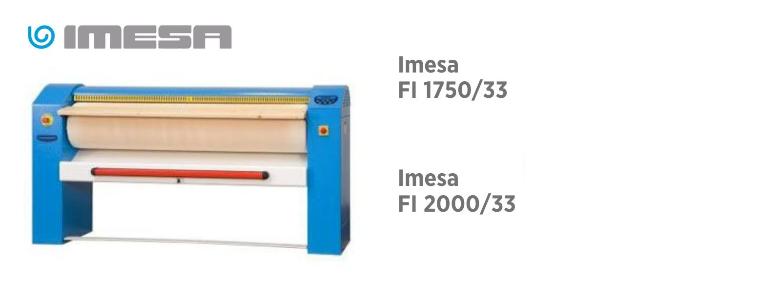 Гладильные катки IMESA в наличии