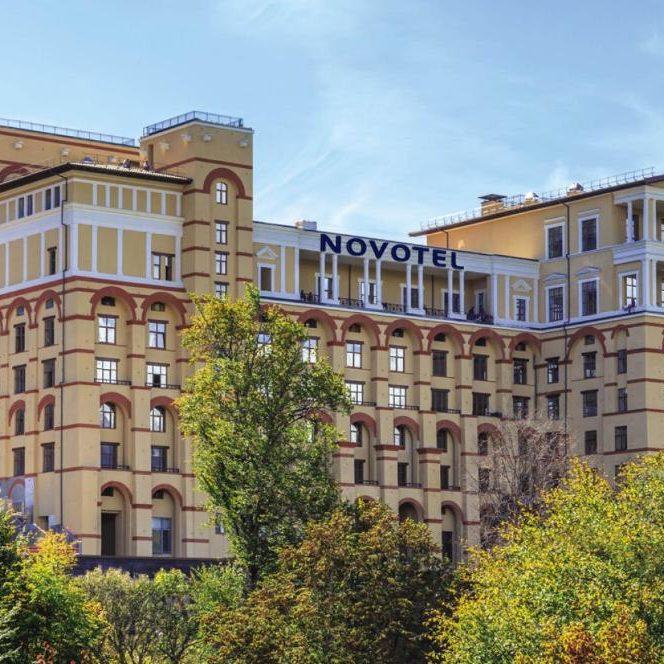 Профессиональный текстиль для отеля и гостиницы от PROFITEX. Сетевой отель Novotel Красная поляна, Сочи