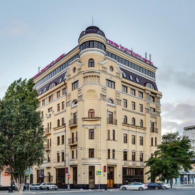 Профессиональный текстиль для отеля и гостиницы от PROFITEX. Сетевой отель Mercure Ростов-на-Дону